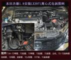 本田杰德提升动力改装键程离心式电动涡轮增压器LX3971,欧卡改装网