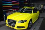 奥迪A4施工CYS柠檬黄,欧卡改装网,汽车改装