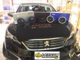 标致508音响改装 德国伊顿 斯派朗魔音盒DSP,欧卡改装网,汽车改装