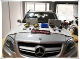 高质量音乐享受 奔驰GLK300无损改装德国RS能量两分频音响,欧卡改装网,汽车改装
