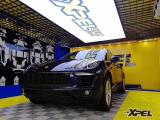 保时捷macan贴膜正品XPEL隐形车衣,欧卡改装网,汽车改装
