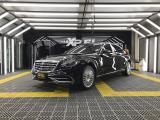奔驰迈巴赫S450装贴XPEL透明保护膜,欧卡改装网,汽车改装