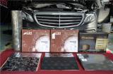 武汉奔驰E300L施工俄罗斯STP隔音案例,欧卡改装网,汽车改装