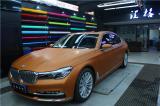 宝马改色金属古铜 美国3M进口改色膜,欧卡改装网,汽车改装