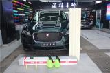 捷豹F-pace施工HEXIS透明保护膜,欧卡改装网,汽车改装