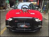 奥迪A4 改装力爽高性能点火+碳纤运动方向盘,欧卡改装网,汽车改装