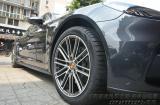 保时捷帕拉梅拉升级20寸锻造轮毂,欧卡改装网,汽车改装