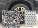 宝马X5翼子板隔音降噪案例,欧卡改装网,汽车改装