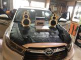 丰田汉兰达音响升级三分频,欧卡改装网,汽车改装
