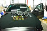 奔驰C260无损升级奔驰专用丹拿喇叭,欧卡改装网