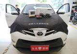丰田RAV4汽车音响改装丹拿232套装喇叭,欧卡改装网,汽车改装