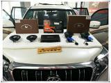 丰田霸道无损升级意大利诗芬尼两分频音响,欧卡改装网,汽车改装