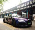 排气轰鸣的完美音浪 奥迪R8改装可控排气阀门,欧卡改装网,汽车改装