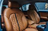 奥迪A6L改装真皮内饰/真皮座椅/真皮门板,欧卡改装网,汽车改装