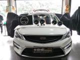 吉利GS音响改装德国野兽W-S3套装,欧卡改装网,汽车改装