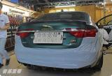 捷豹XF全车隔音降噪 防火墙隔音 欧洲CTK隔音品牌,欧卡改装网,汽车改装