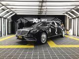 延续优雅完美,奔驰迈巴赫S450贴XPEL隐形车衣,欧卡改装网,汽车改装