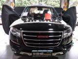 汽车音响改装——哈弗H8音响改装摩雷优特声603三分频,欧卡改装网,汽车改装