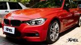 墨尔本红更鲜艳亮眼,宝马三系贴XPEL隐形车衣,欧卡改装网,汽车改装