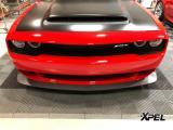 美式性能车道奇挑战者SRT贴XPEL隐形车衣,欧卡改装网,汽车改装