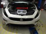 菲亚特致悦改进口海拉5透镜飞利浦氙气灯恶魔眼大灯熏黑,欧卡改装网,汽车改装