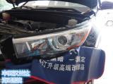 丰田汉兰达大灯氙气灯改灯GTR透镜,欧卡改装网,汽车改装