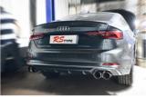 奥迪S5升级Rstype电子阀门排气,欧卡改装网