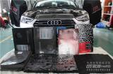 奥迪A4隔音降噪,全车隔音升级俄罗斯STP案例,欧卡改装网,汽车改装
