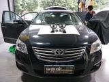丰田凯美瑞音响改装美国K牌KSS654套装,欧卡改装网,汽车改装