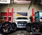 奥迪Q3改装19寸FF01轮毂 丰雄汽车改装,欧卡改装网,汽车改装
