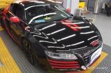 【先驱·改色】百万豪车奥迪R8改色案例,欧卡改装网,汽车改装