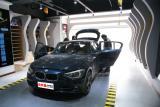 宝马118i汽车音响改装德国零点三分频+全车安博士隔音,欧卡改装网,汽车改装