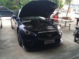 英菲尼迪q50 刷ecu 起步烧胎一脚油,欧卡改装网,汽车改装