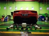 法拉利 488 改装升级AK天蝎全段排气!陕西丰雄汽车改装,欧卡改装网,汽车改装