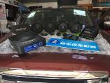 五十铃D-MAX音响改装德国艾索特MD165 居闹市也可听美音,欧卡改装网,汽车改装
