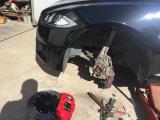 布雷博 Brembo GT6安装,欧卡改装网,汽车改装