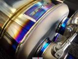 保时捷Panamera升级SETRS钛合金排气 陕西丰雄汽车改装,欧卡改装网,汽车改装
