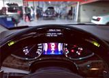 玛莎拉蒂总裁吉博力加装网红LED方向盘,欧卡改装网,汽车改装