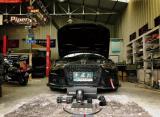 性能亦力量!奥迪A6升级碳纤维进气套件SF点火 陕西丰雄,欧卡改装网,汽车改装