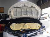 汽车隔绝噪音 隔音改装 卡罗拉全车隔音工程 深圳锋程车改,欧卡改装网,汽车改装