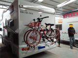 房车加装背挂自行车架,欧卡改装网,汽车改装