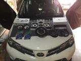 撩动心弦的遇见丰田RAV4音响改装洛克力量R653三分频一一云星,欧卡改装网,汽车改装