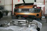 奥迪R8改装PowerCraft遥控排气系统,欧卡改装网,汽车改装