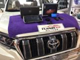 丰田18款普拉多装奥风360度无缝全景系统、大屏导航  汕尾天仔汽车音响定制中心,欧卡改装网
