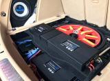 成都美声保时捷Macan音响改装德国海螺5系三分频,欧卡改装网