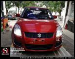 铃木雨燕升级GTR透镜重庆汽车氙灯灯光改装,欧卡改装网,汽车改装