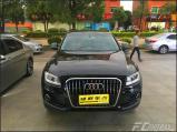 奥迪Q5升级海拉五灯光,提高行车保障,欧卡改装网,汽车改装