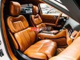 林肯大陆复古风棕色油蜡皮全车内饰改装,欧卡改装网,汽车改装