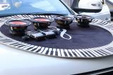 东莞吉利远景X6汽车音响改装美国好莱坞,大麦隔音作业,欧卡改装网,汽车改装