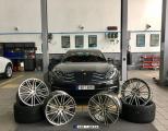 东莞TAR保时捷案例——Panamera升级21寸锻造轮毂,欧卡改装网,汽车改装